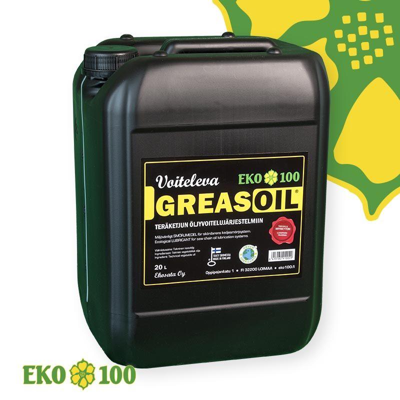 EKO 100 Voiteleva Greasoil Öljyvoitelu