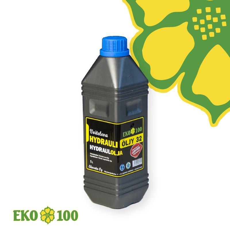 EKO 100 Voiteleva Bio Hydrauliöljy 32